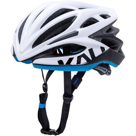 Kali Loka Valor Casco, matt white/black/blue